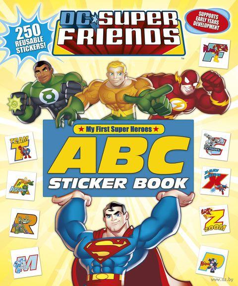 DC Super Friends. ABC Sticker Book