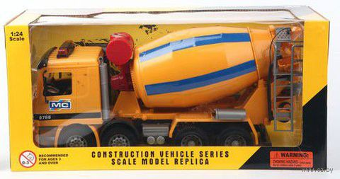 "Модель машины ""Бетономешалка Construction"" (масштаб: 1/24) — фото, картинка"