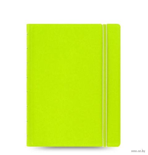 """Записная книжка Filofax """"Notebook Classic"""" (A5; салатовый)"""
