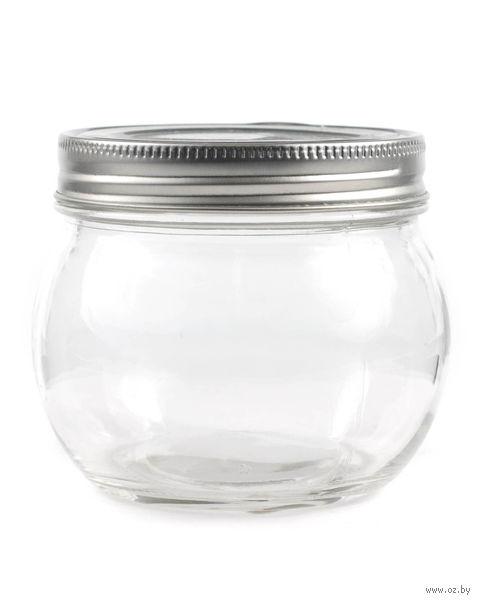 Банка для сыпучих продуктов стеклянная (400 мл; арт. 91003M-5)