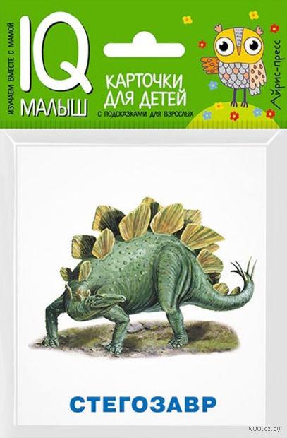 Динозавры. Набор карточек для детей — фото, картинка