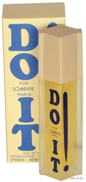 """Туалетная вода для мужчин """"Lomani Do It!"""" (100 мл)"""