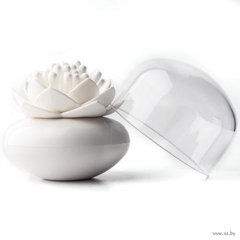 """Контейнер для хранения ватных палочек """"Lotus"""" (белый)"""