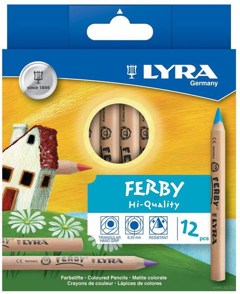 "Цветные карандаши ""FERBY"" (12 цветов)"
