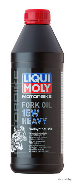 "Масло трансмиссионное ""Motorbike Fork Oil Heavy"" 15W (1 л) — фото, картинка"