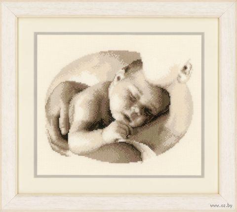 """Вышивка крестом """"Материнская любовь"""" (260x210 мм) — фото, картинка"""