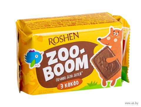 """Печенье """"Zoo-boom. С какао"""" (68 г) — фото, картинка"""