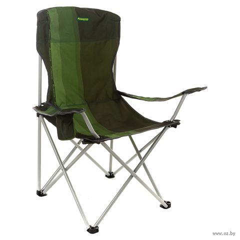 Кресло складное (зелёное; арт. K502) — фото, картинка