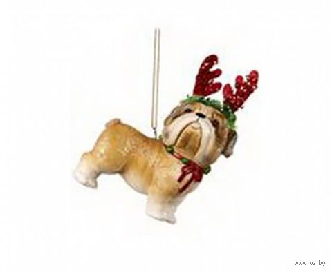 "Ёлочная игрушка ""Ши-тцу с рогами"" — фото, картинка"