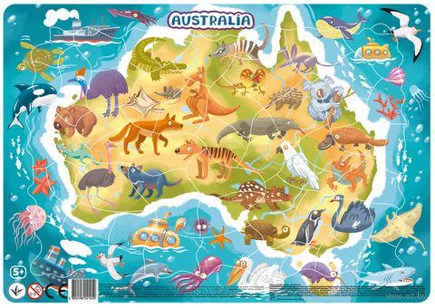 """Пазл-рамка """"Австралия"""" (53 элемента) — фото, картинка"""