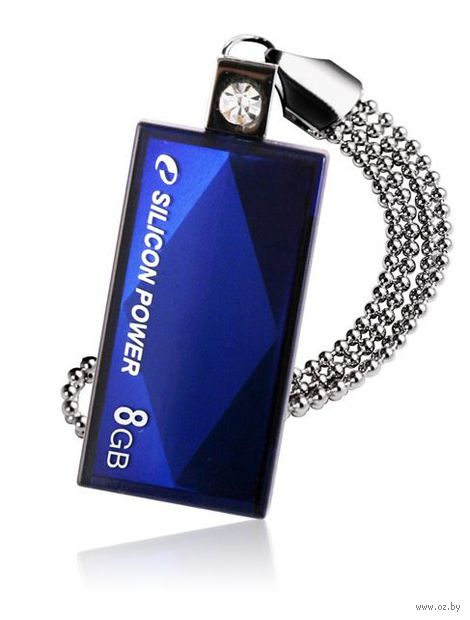 USB Flash Drive 8Gb Silicon Power Touch 810 (Blue)