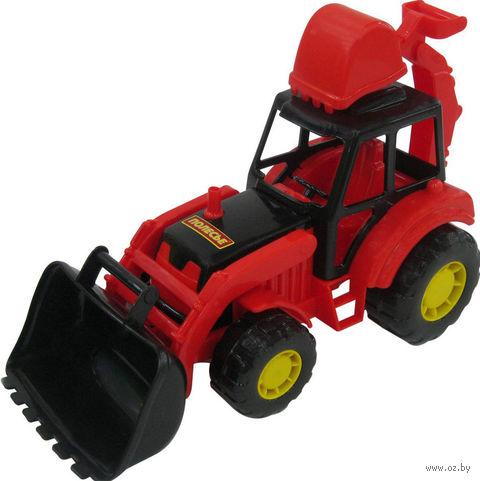 "Трактор-экскаватор ""Мастер"" — фото, картинка"