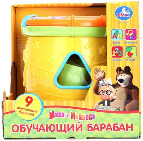 """Барабан """"Маша и Медведь"""" (со световыми эффектами) — фото, картинка"""