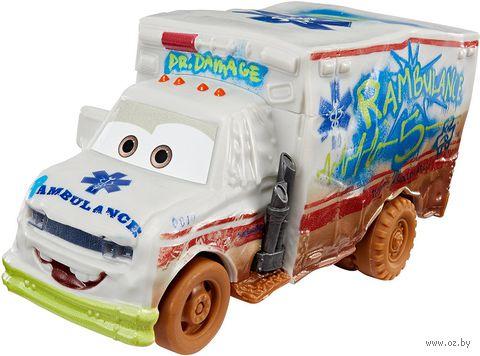 """Машина скорой помощи """"Тачки 3. Сумасшедшая восьмерка. Доктор Скрежет"""" — фото, картинка"""