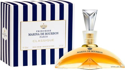 """Парфюмерная вода для женщин """"Marina de Bourbon"""" (30 мл) — фото, картинка"""
