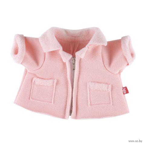 """Одежда для мягкой игрушки """"Зайка Ми. Курточка меховая розовая"""" (23 см) — фото, картинка"""