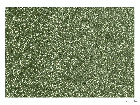 """Фольга для декорирования ткани """"Светло-зеленый"""" (296х204 мм)"""
