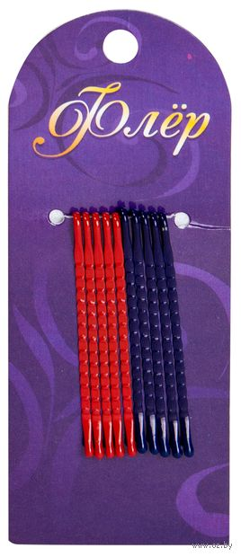 Набор невидимок для волос (10 шт.; разноцветный) — фото, картинка