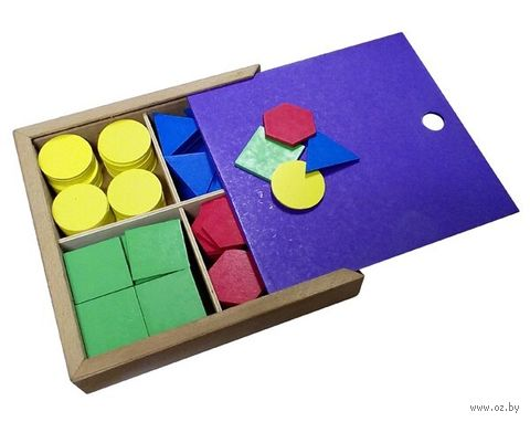 """Деревянная игрушка """"Дидактический набор"""" (арт. Д-733) — фото, картинка"""