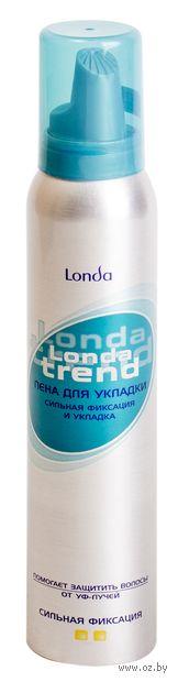 "Пена для укладки волос ""Londa Trend"" сильной фиксации (200 мл) — фото, картинка"