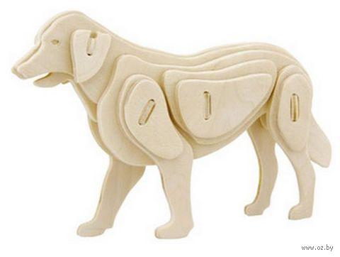 "Пазл ""3D Деревянные пазлы. Животные. Собачка"" (33 элемента)"