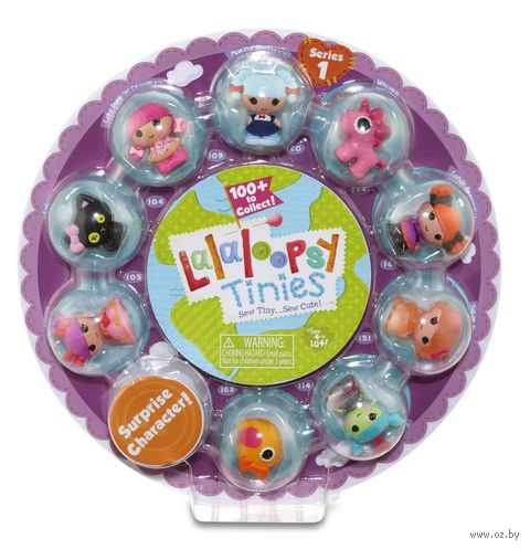 "Набор кукол ""Lalaloopsy Tinies. Стиль 3"""