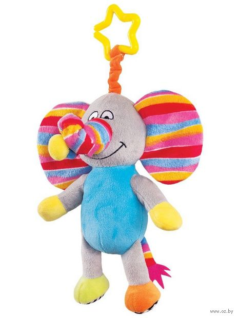 "Игрушка-подвеска ""Слоненок Джамбо"" — фото, картинка"