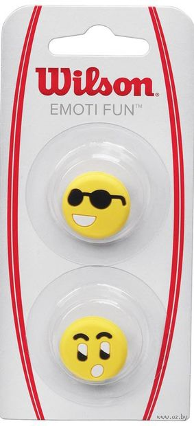 "Виброгаситель ""Emoti-Fun Sun Glasses"" (жёлтый) — фото, картинка"