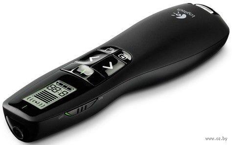 Беспроводная мышь-презентер Logitech Wireless Presenter Professional R700 (черная)