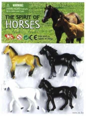 """Набор фигурок """"Лошади"""" (4 шт.) — фото, картинка"""