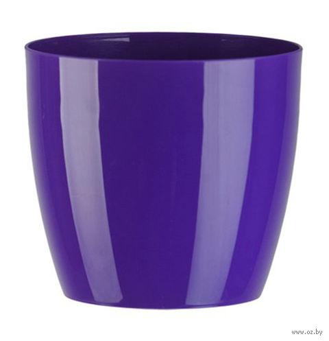 """Цветочный горшок """"Ага"""" (16 см; фиолетовый) — фото, картинка"""