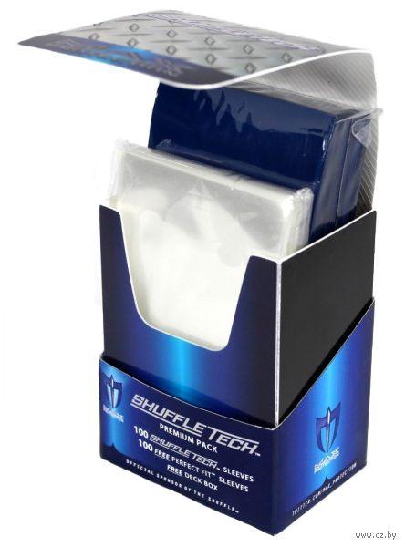 "Протекторы ""Premium pack"" (66х93 мм; 200 шт.; синие) — фото, картинка"