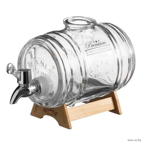 """Емкость для напитков с дозатором """"Barrel"""" (1 л) — фото, картинка"""