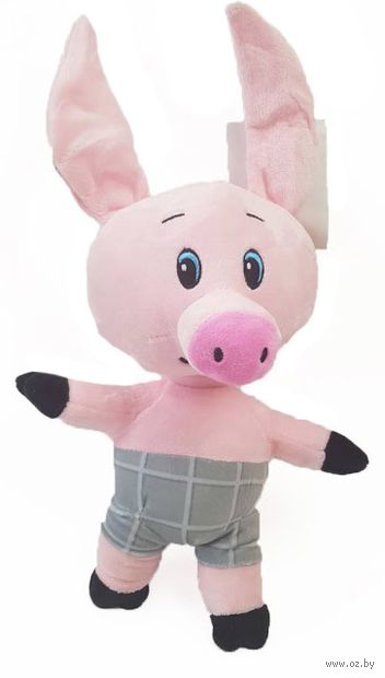 "Мягкая игрушка ""Свинка"" (28 см) — фото, картинка"