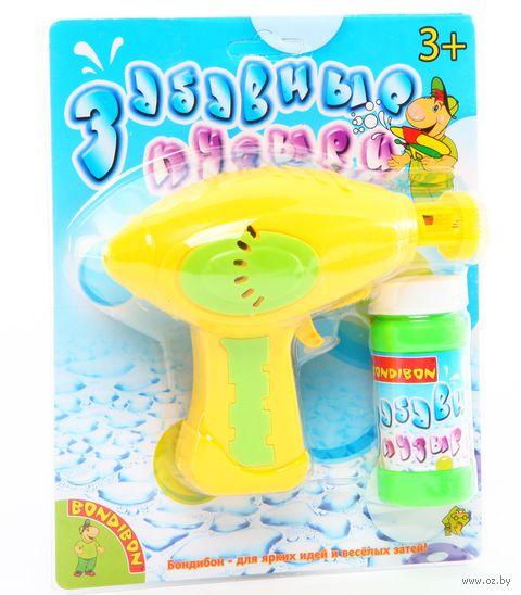 """Игрушка для выдувания мыльных пузырей """"Забавные пузыри"""" (арт. ВВ0468)"""
