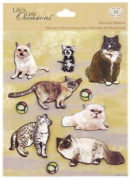 """Стикеры для скрапбукинга """"Котики"""" — фото, картинка"""