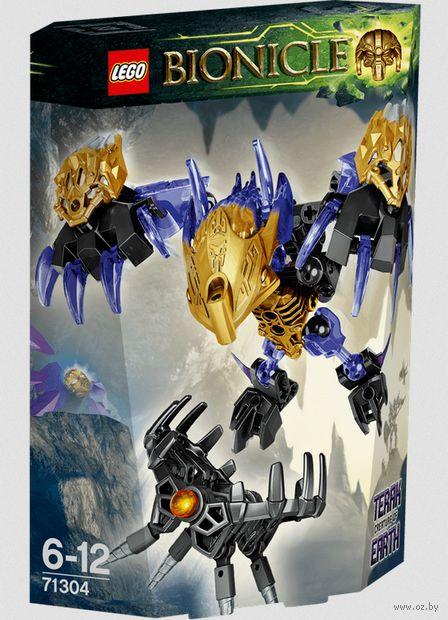 "LEGO Bionicle ""Терак, Тотемное животное Земли"""