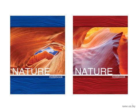 """Блокнот в клетку """"Красота природы"""""""