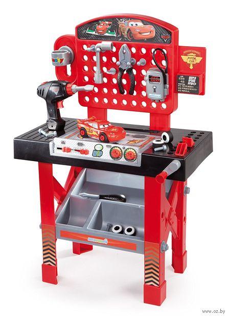 """Набор инструментов """"Тачки. Ремонтная мастерская с машинкой Маккуин"""" (со звуковыми эффектами) — фото, картинка"""