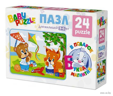"Пазл ""Baby Puzzle. Пазл Мини"" (24 элемента) — фото, картинка"