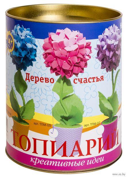 """Набор для изготовления топиария из EVA """"Гортензия"""" (розовая) — фото, картинка"""