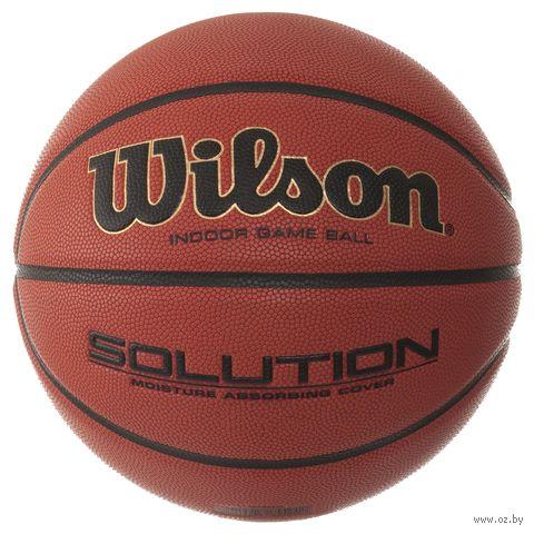 "Мяч баскетбольный Wilson ""Solution"" №7 — фото, картинка"