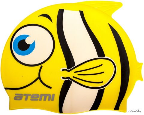 Шапочка для плавания (жёлтая; арт. FC101) — фото, картинка