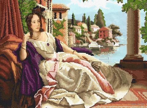 """Алмазная вышивка-мозаика """"Портрет принцессы"""" (500х360 мм) — фото, картинка"""