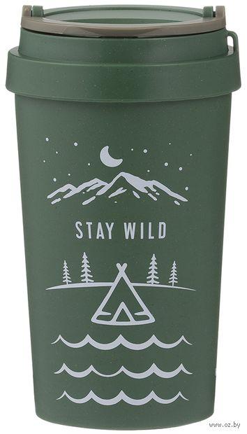 """Эко-стакан """"Stay Wild"""" — фото, картинка"""