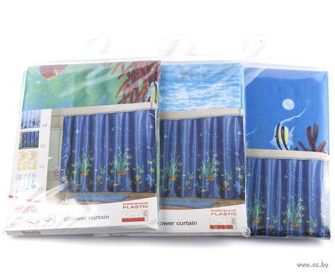 Занавес-шторка для ванной (180х180 см; арт. 261659) — фото, картинка