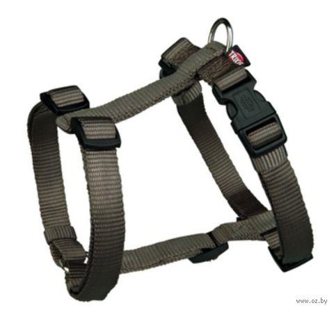 "Шлея для собак ""Premium H-harness"" (размер M-L, 50-75 см, темно-серый, арт. 20346)"