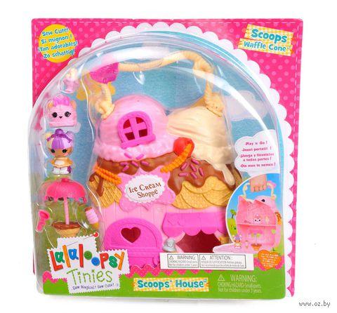 """Дом для куклы """"Lalaloopsy Tinies. Домик Вафельки"""""""