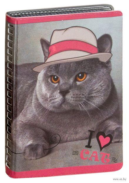 """Визитница """"Кот в шляпе"""" — фото, картинка"""