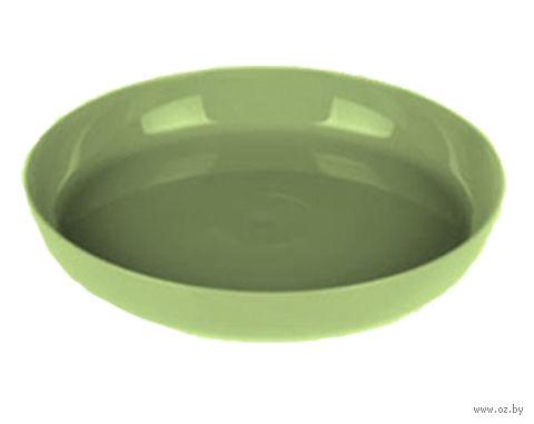 """Подставка для цветочного горшка """"Ага"""" (17 см; зеленая) — фото, картинка"""